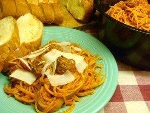 Spaghetti recipee