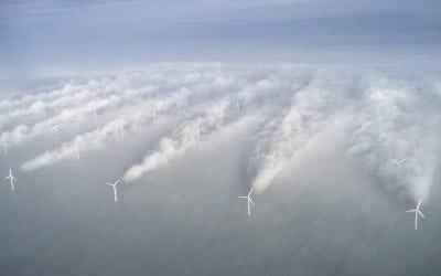World Record For Wind Power in Denmark