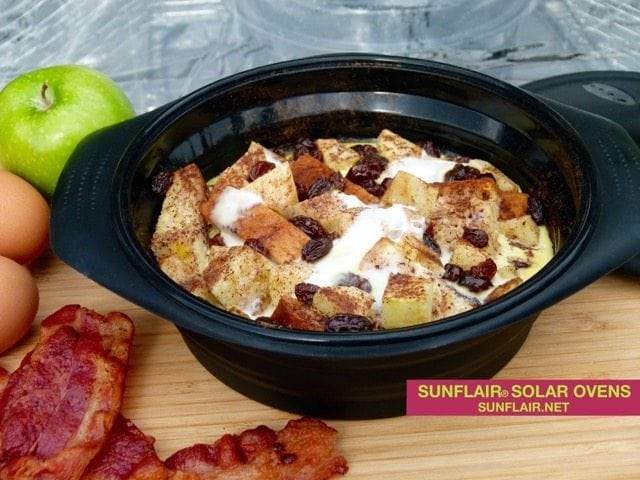 French Toast with Apples Casserole