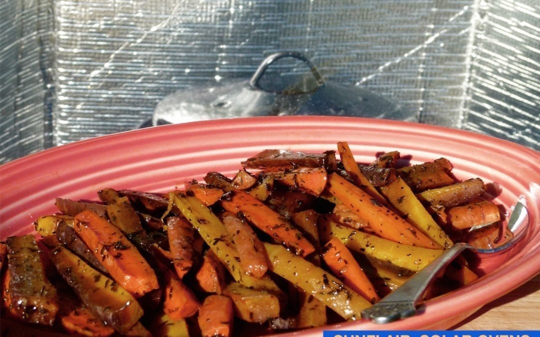 Carrots Roasted with Thyme and Parsley