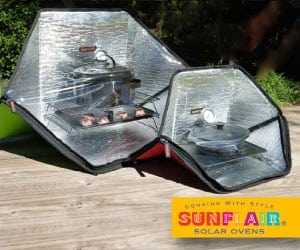 Sunflair Solar Ovens Referral Link