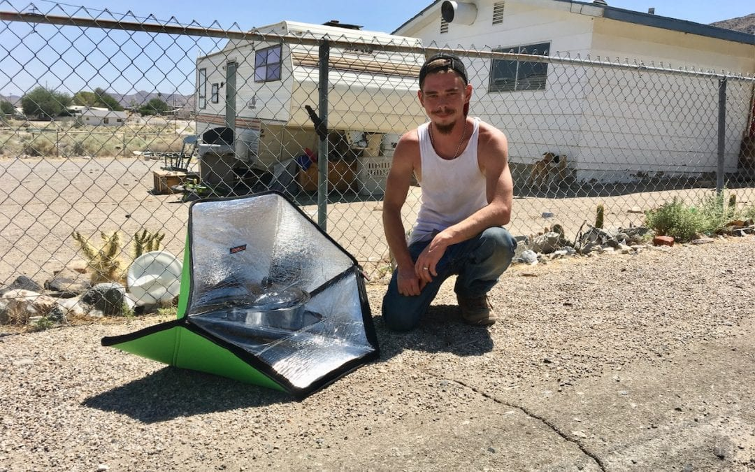 Oven Donations to Trona Quake Victims