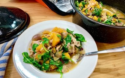 Butternut Squash & Turkey Ragout